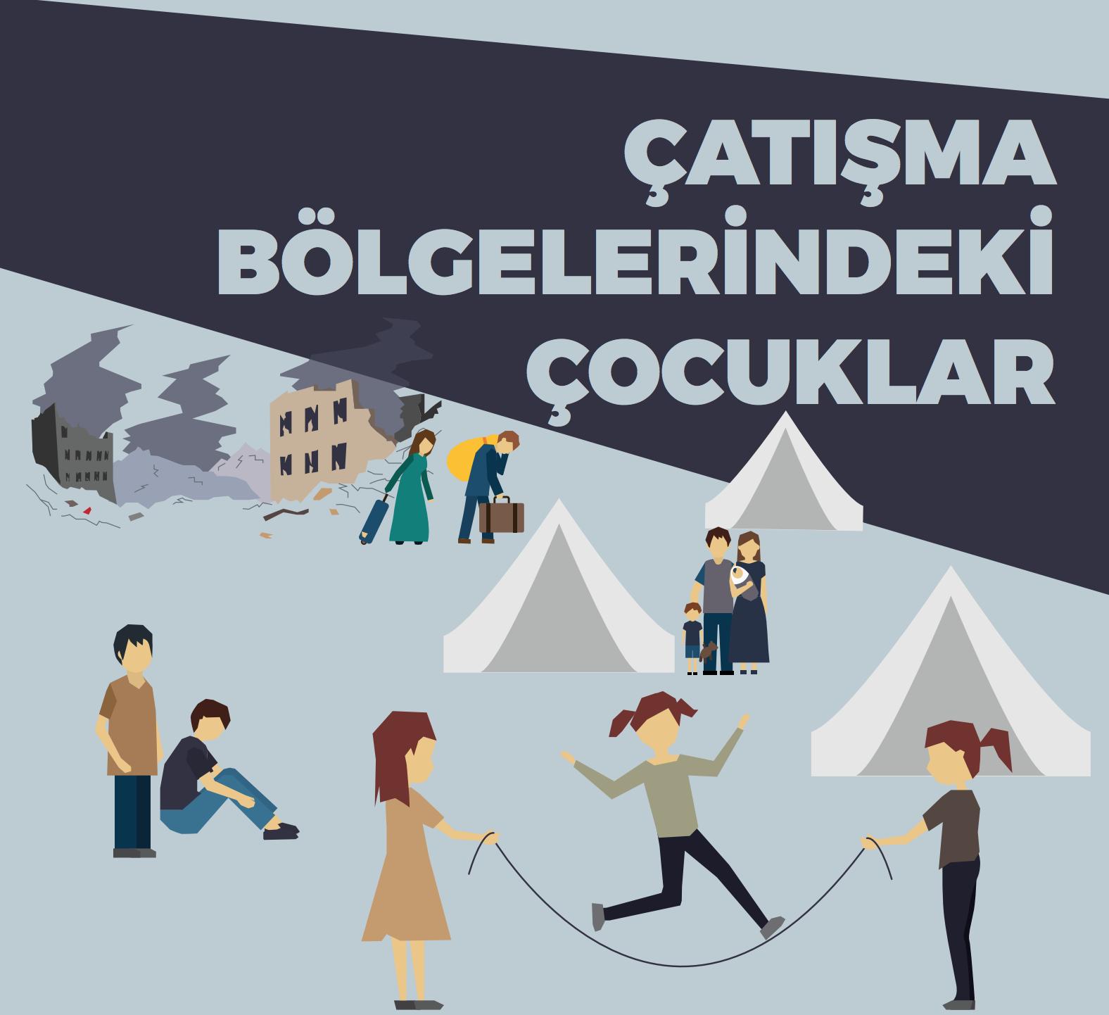 """Güneydoğu Anadolu Bölgesi Bilgi Notu Yayınlandı! """"Çatışma Bölgelerindeki Çocuklar"""""""
